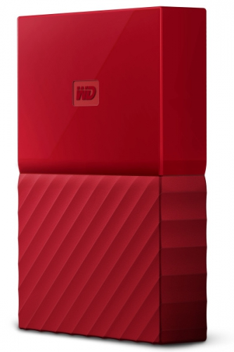 Western Digital My Passport 4TB červený