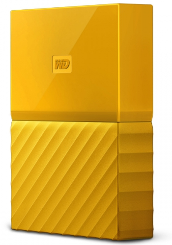 Western Digital My Passport 4TB žlutý