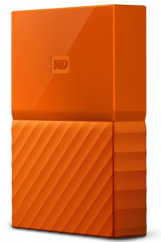 Western Digital My Passport 4TB oranžový