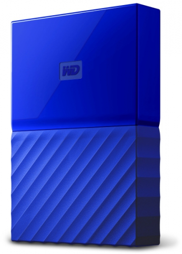 Western Digital My Passport 4TB modrý