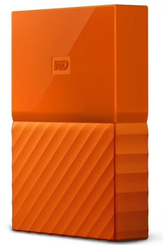 Western Digital My Passport 2TB oranžový