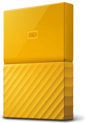 Western Digital My Passport 1TB žlutý