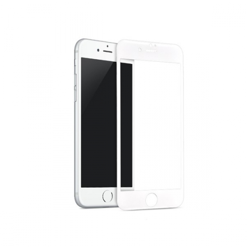 InvisibleSHIELD Glass Contour pro Apple iPhone 7 Plus - bílý rám