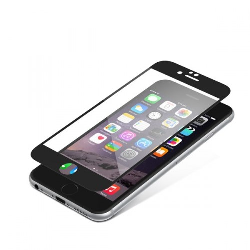 InvisibleSHIELD Glass Contour pro Apple iPhone 7 - černý rám