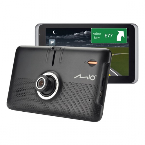 Navigační systém GPS Mio MiVue Drive 65LM, Truck/Karavan, s kamerou, mapy EU (44) Lifetime černá + dárek