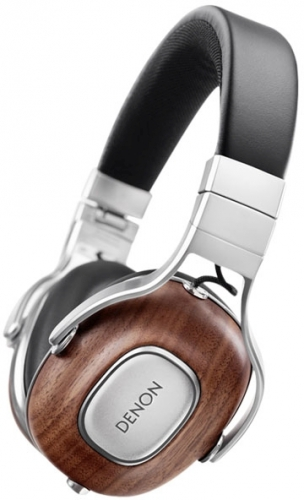 Denon Music Maniac AH-MM400 černá/dřevo