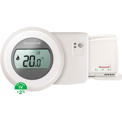 Honeywell Evohome Round Home Connected pro topení (T87RF2025+BDR91A1000+RFG100)
