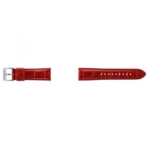 Samsung kožený pro Gear S3 Aligator červený