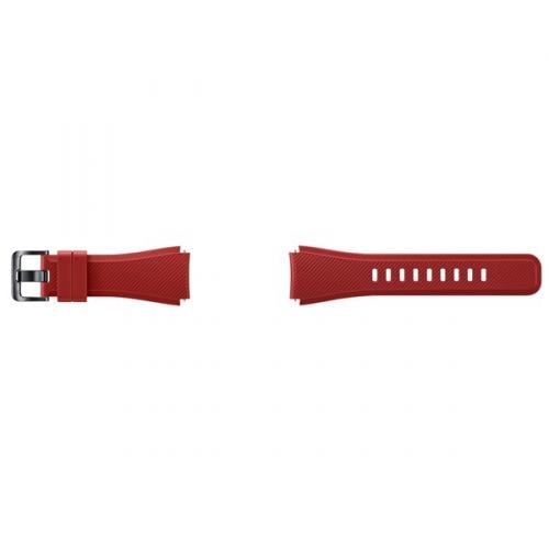 Samsung silikonový pro Gear S3 Frontier červený