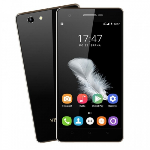 Mobilní telefon Umax VisionBook P50 LTE černý