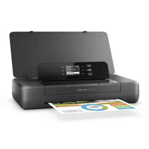 HP Officejet 202 Mobile Printer černá