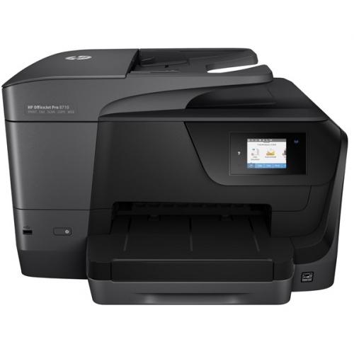 HP Officejet Pro 8710 černá