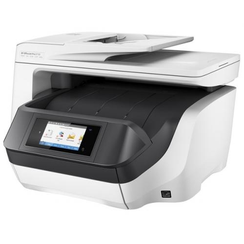 HP Officejet Pro 8730 bílá