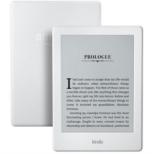 Amazon Kindle 8 TOUCH Wi-Fi verze s reklamou bílá
