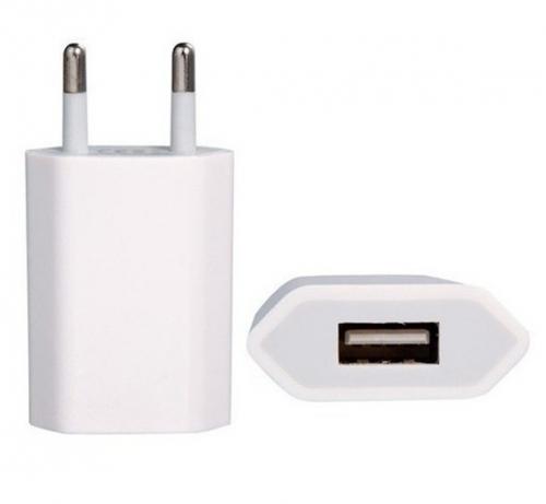 Fotografie iPhone A1400 Original Cestovní USB Dobíječ (Bulk)