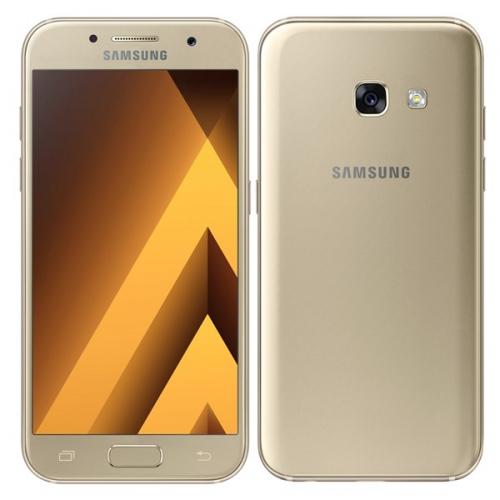 Samsung Galaxy A3 (2017) zlatý + dárek (SM-A320FZDNETL)