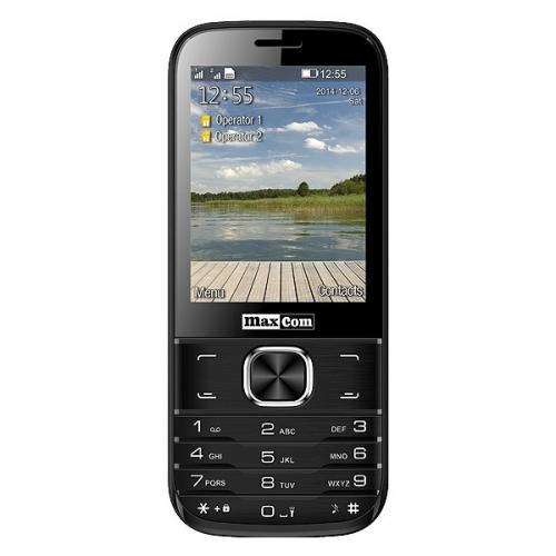 MaxCom Classic MM237 Dual SIM černý