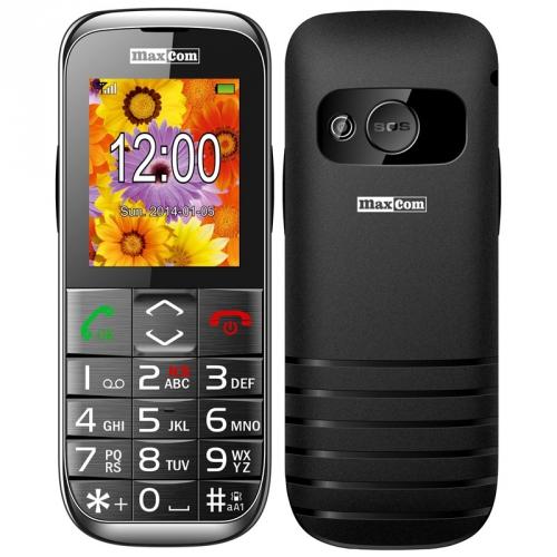 MaxCom Comfort MM720 Single Sim černý