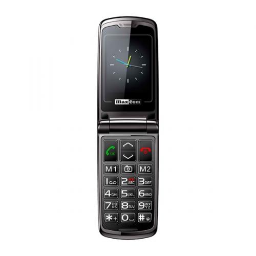 MaxCom Comfort MM822 Single Sim černý