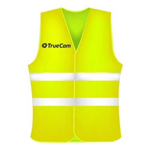 Reflexní vesta TrueCam, žlutá