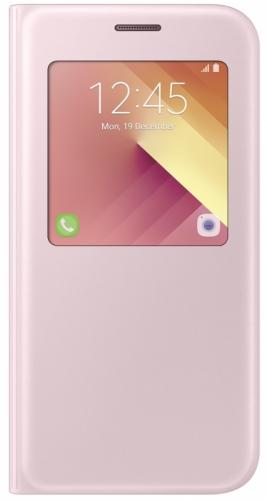 Samsung S-View pro Galaxy A5 2017 (EF-CA520P) růžové