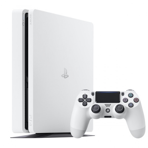 Sony PlayStation 4 SLIM 500GB bílá