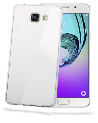 Fotografie Kryt na mobil Celly Gelskin pro Samsung Galaxy A3 (2017) - průhledný