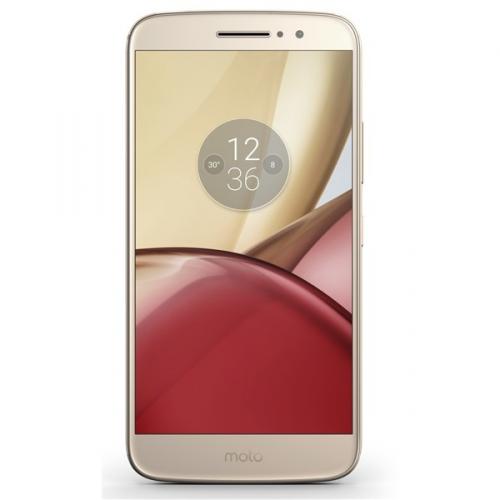 Motorola Moto M Dual SIM zlatý (PA5D0077CZ)