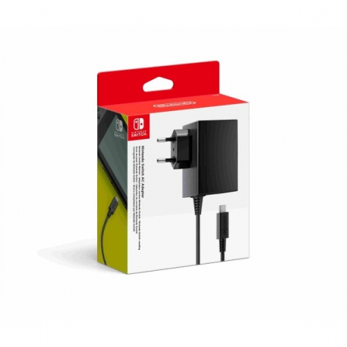 Nintendo Switch AC Adapter černé