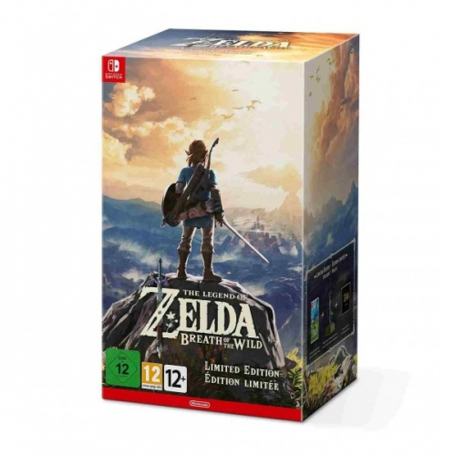 Nintendo SWITCH The Legend of Zelda: BOTW Limited edition