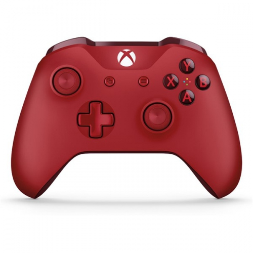 Gamepad Microsoft Xbox One Wireless červený