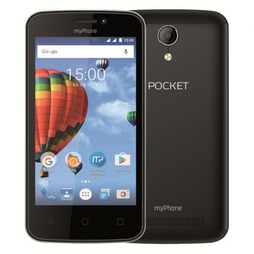 myPhone POCKET černý + dárek