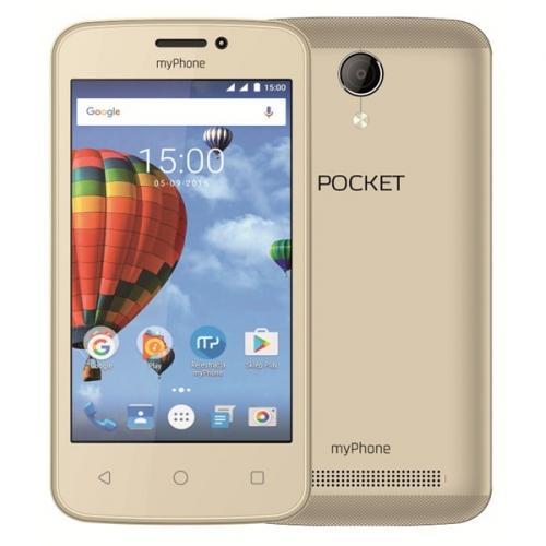myPhone POCKET zlatý + dárek