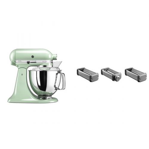 Set (Příslušenství k robotům KitchenAid KPRA) + (Kuchyňský robot KitchenAid Artisan 5KSM175PSEPT)