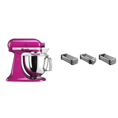 Set (Příslušenství k robotům KitchenAid KPRA) + (Kuchyňský robot KitchenAid Artisan 5KSM175PSERI)