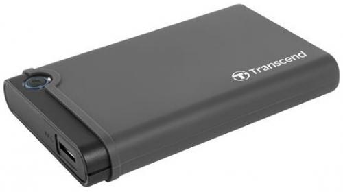 "Box na HDD Transcend StoreJet 25CK3 All-in-one, 2,5"" SATA, USB 3.0 černý"