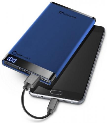 CellularLine FreePower Manta 6000mAh modrá