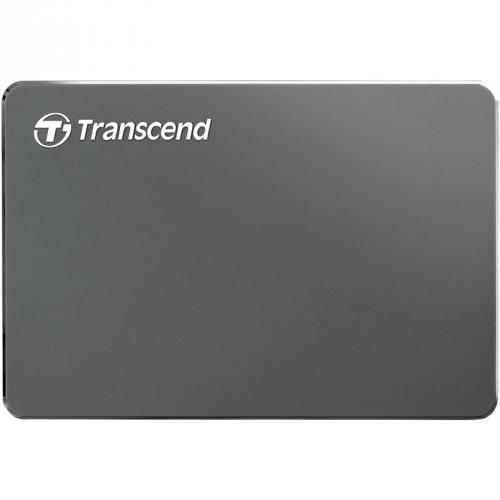 Transcend StoreJet 25C3 2TB šedý/ocel