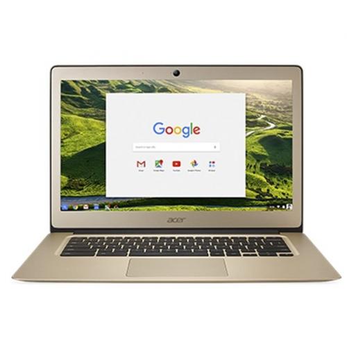 Acer Chromebook 14 (CB3-431-C3LS) zlatý + dárek