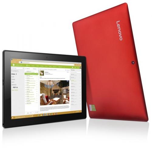 Lenovo MIIX 310-10ICR LTE červený + dárky