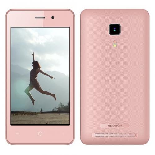 Aligator S4080 Dual SIM růžový + dárek (AS4080PK)