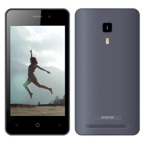 Aligator S4080 Dual SIM šedý + dárek (AS4080GY)