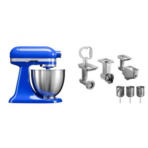 Set KitchenAid - kuchyňský robot 5KSM3311XETB + FPPC balíček s příslušenstvím