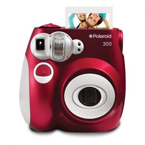 Polaroid PIC-300 Instant červený (POLPIC300R)