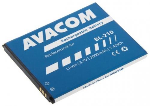 Baterie Avacom pro Lenovo A536, Li-Ion 3,7V 2000mAh (náhrada BL210)