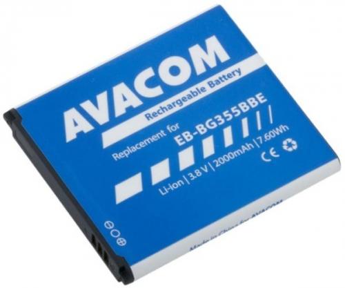 Avacom pro Samsung Core 2, Li-Ion 3,8V 2000mAh, (náhrada EB-BG355BBE)