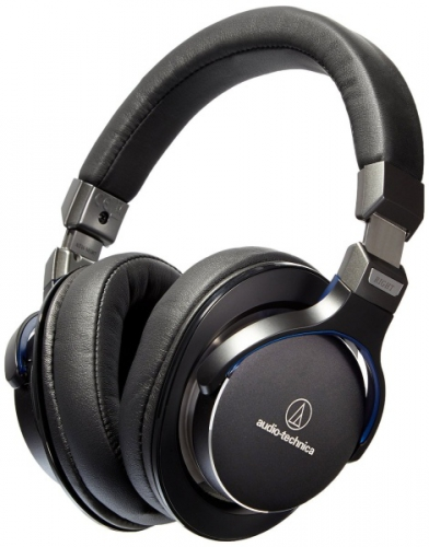 Fotografie Audio-technica ATH-MSR7 černá + dárek (AU ATH-MSR7 BK)