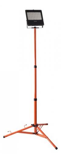 Solight 50W, studená bílá, se stojanem černý/oranžový
