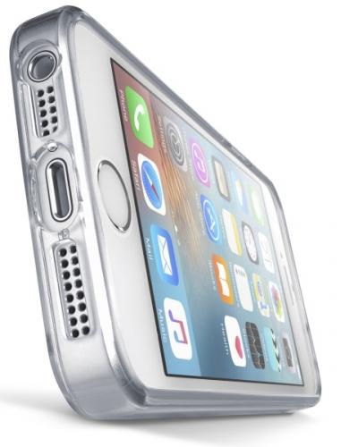 Fotografie CellularLine Clear Duo pro Apple iPhone 5/5s/SE