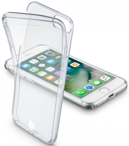CellularLine Clear Touch pro Apple iPhone 8/7 průhledné